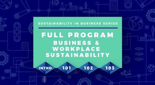 Sustainability in Business Full Program Series