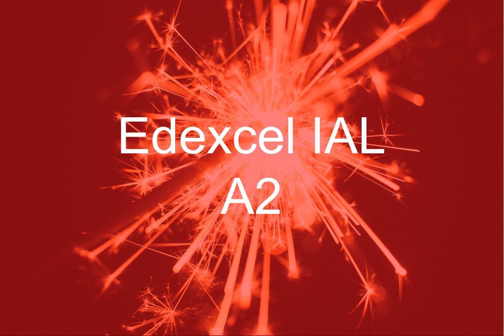 Edexcel IAL 2013 A2 WCH04 course