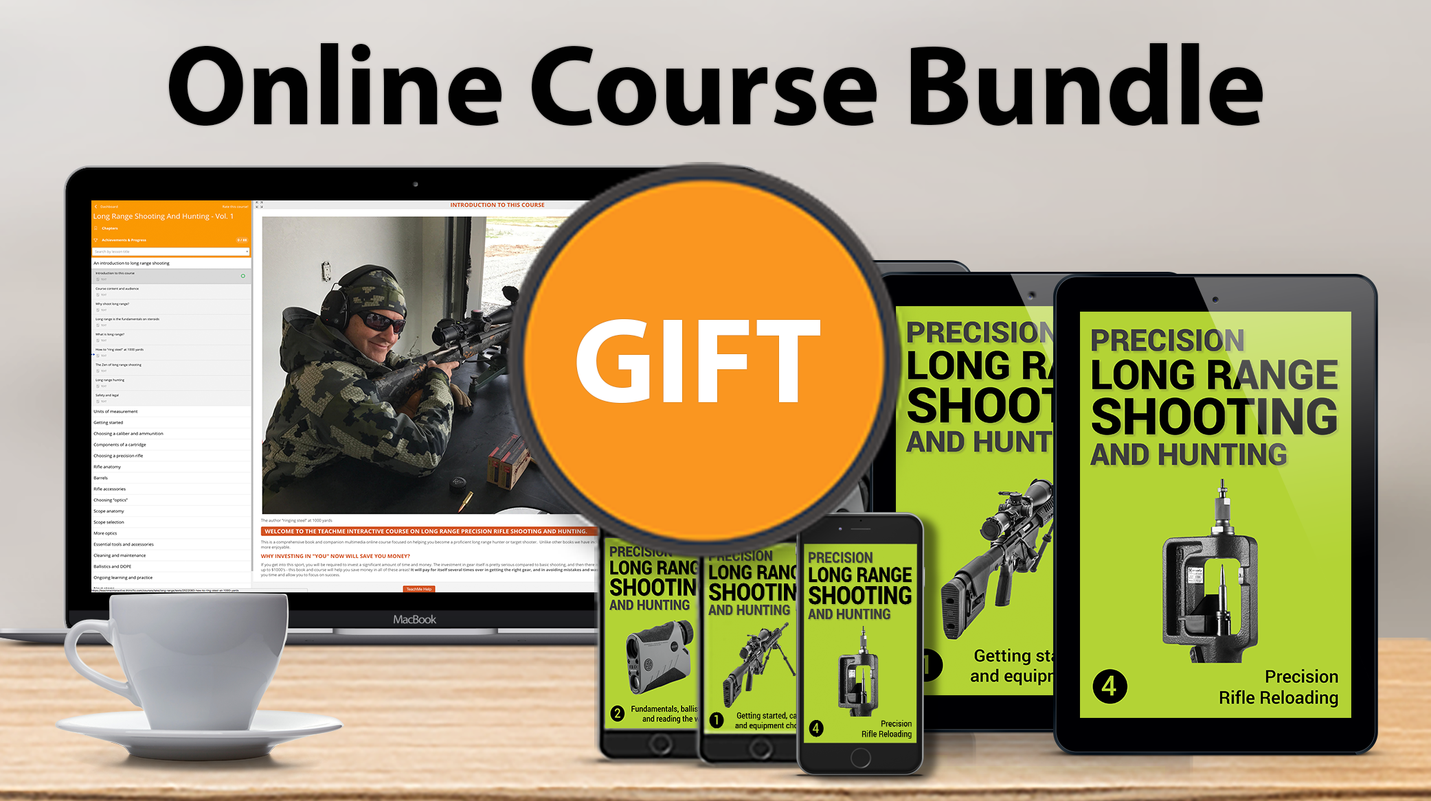 #1 ULTIMATE ONLINE COURSE BUNDLE GIFT - LONG RANGE SHOOTING