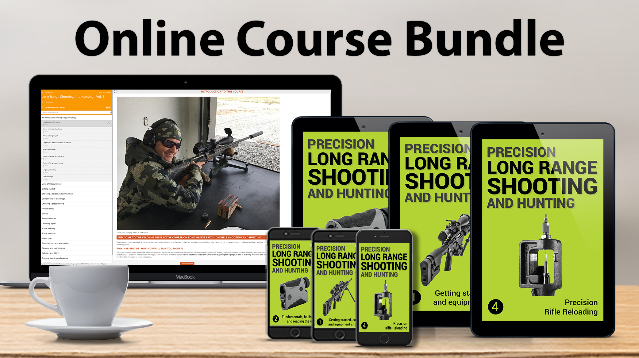 #1 ULTIMATE ONLINE COURSE BUNDLE - LONG RANGE SHOOTING