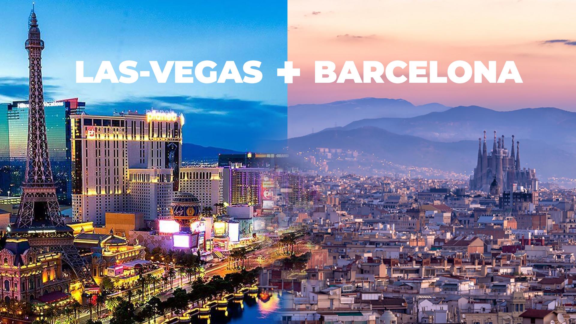 Barcelona + Las Vegas  Replay