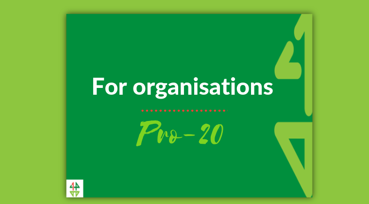 Pro-20 membership