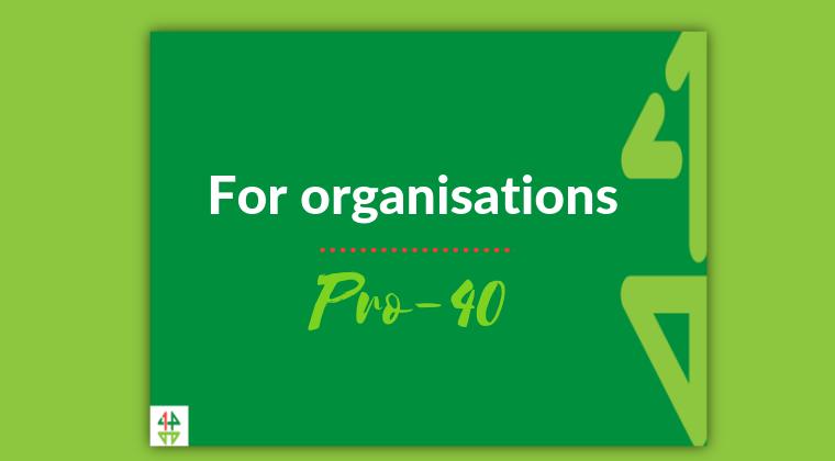 Pro-40 membership