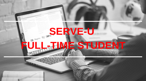 SERVE-U Full-Time Students