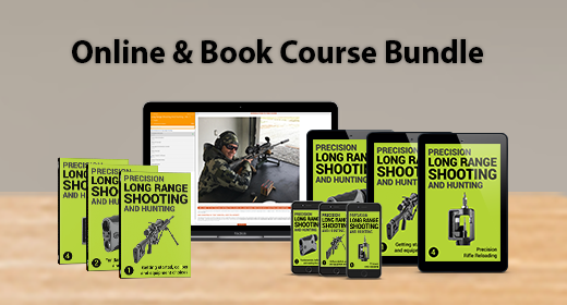 #1 ULTIMATE BOOK & COURSE BUNDLE - LONG RANGE SHOOTING