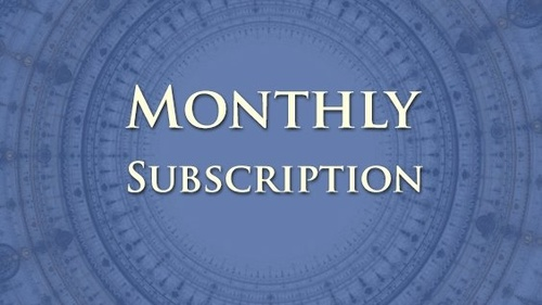 Full Access Monthly Subscription Membership
