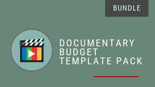 Documentary Budget Template Pack (Bundle)
