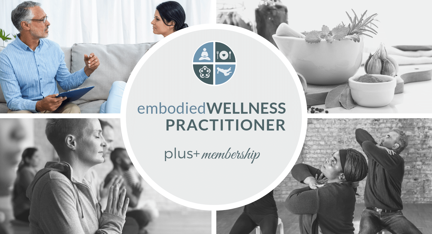 embodied WELLNESS PROFESSIONAL PLUS+ MEMBERSHIP