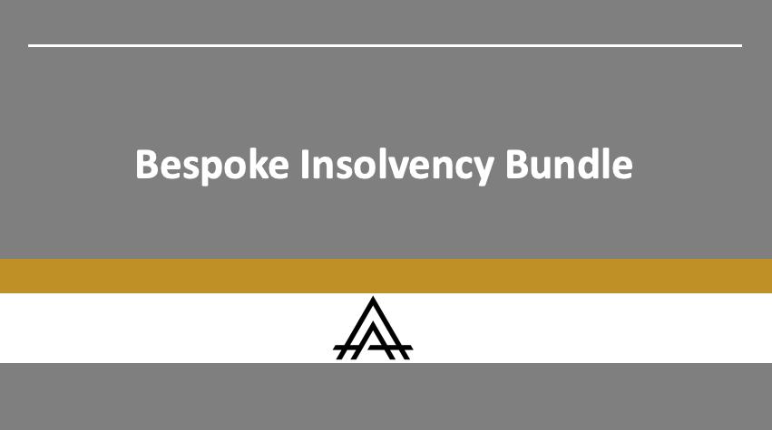 Blockchain Insolvency Bundle