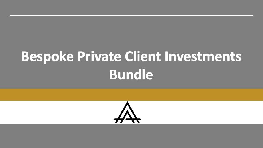 Blockchain Private Client Investments Bundle
