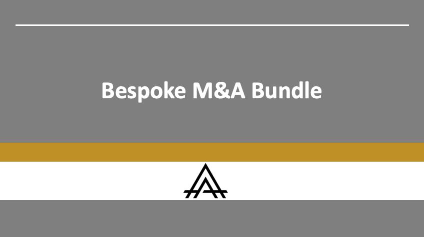 Blockchain M&A Bundle