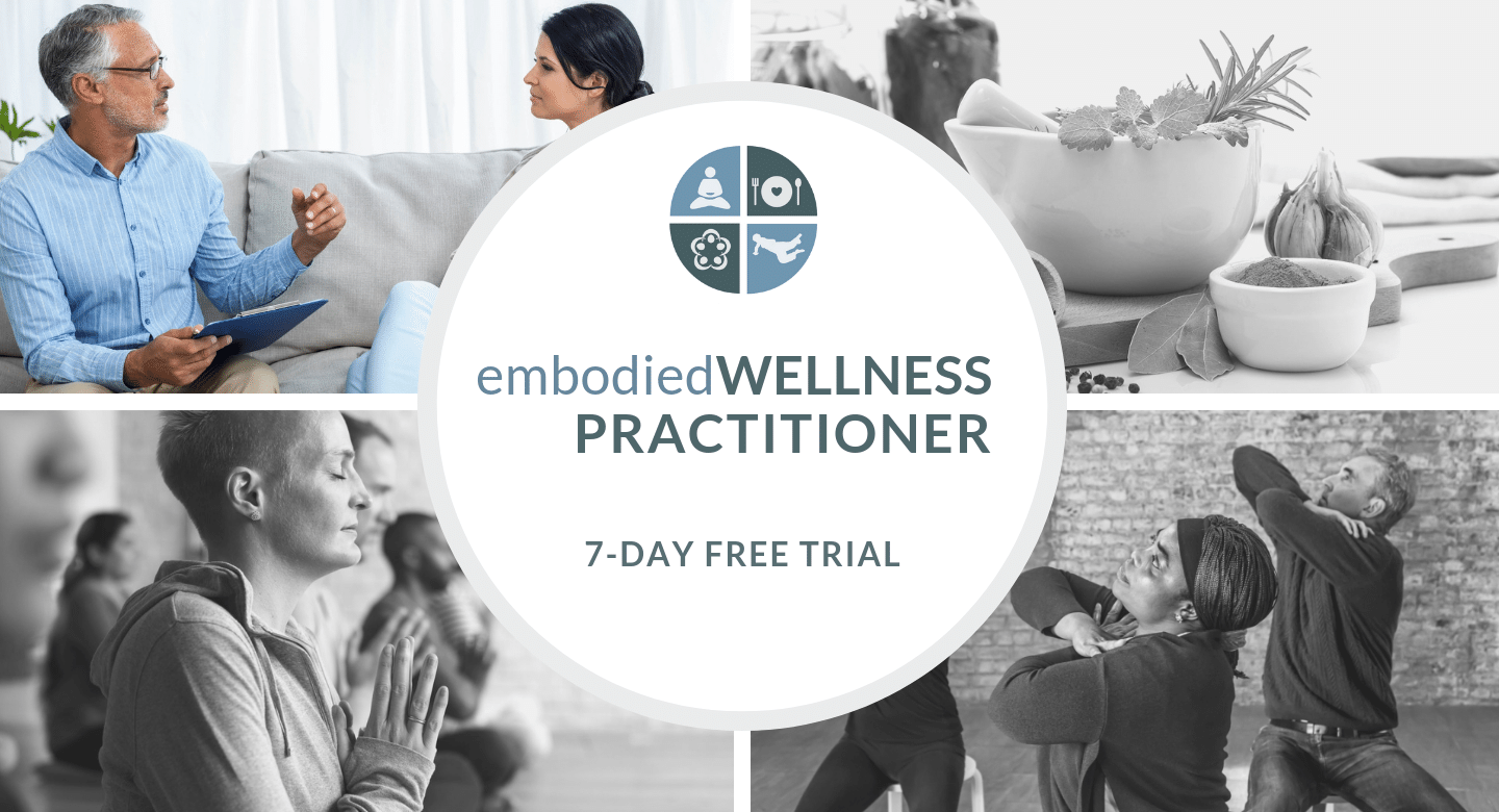 embodied WELLNESS PROFESSIONAL 7-DAY FREE TRIAL