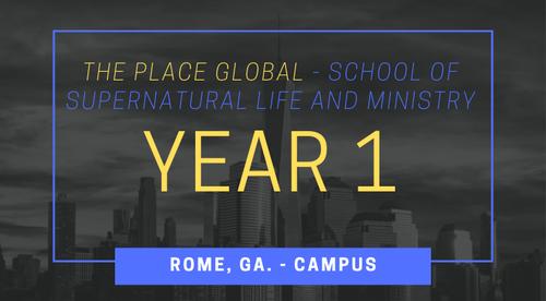 RSSM - Year 1 - Rome, GA. Campus
