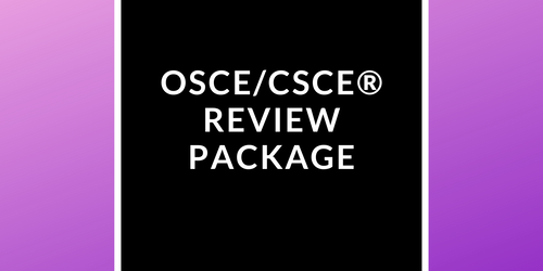 [OSCE/CSCE®] Study Guide + Quizzes + Mock Exam