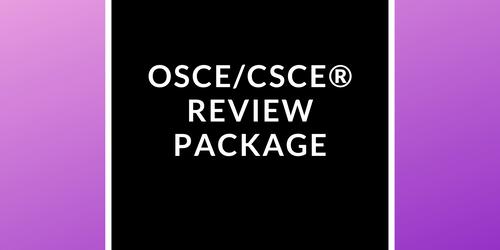 [OSCE/CSCE®] Study Guide + Quizzes + Mock Exam