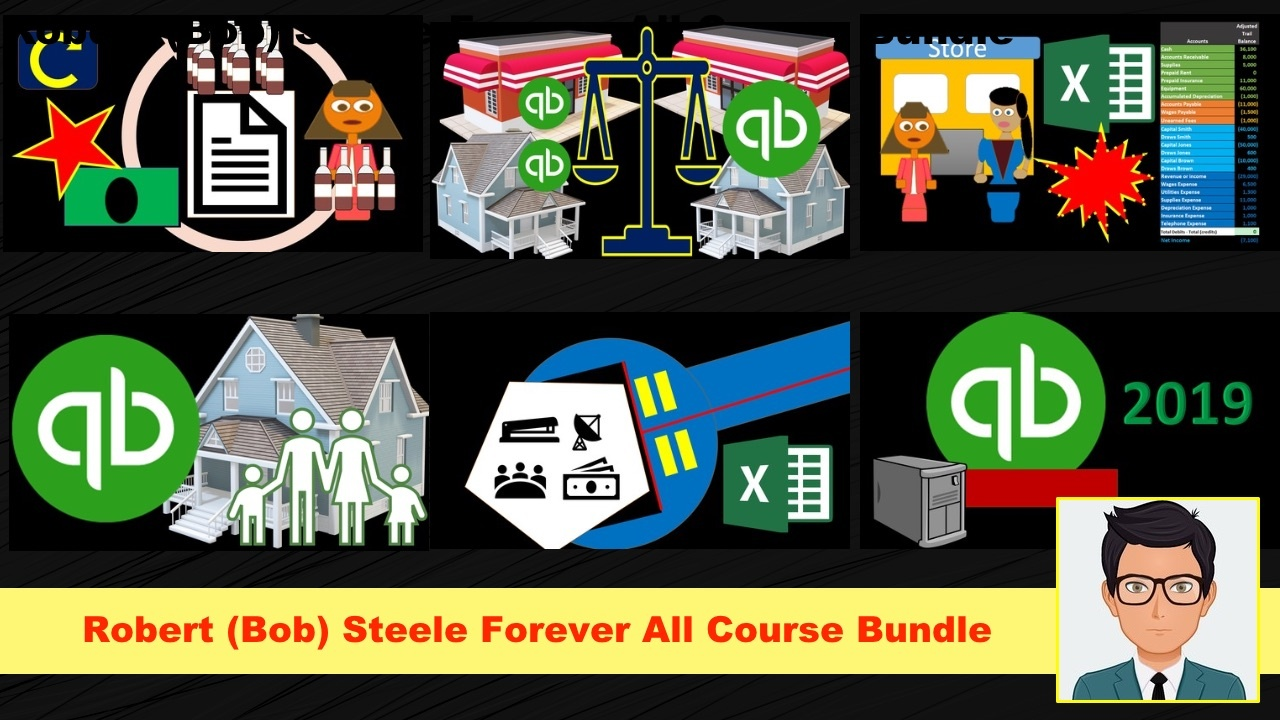 Robert (Bob) Steele Forever All Course Bundle