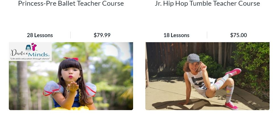 Learn to teach Jr. Hip Hop Tumble and Princess Pre-Ballet