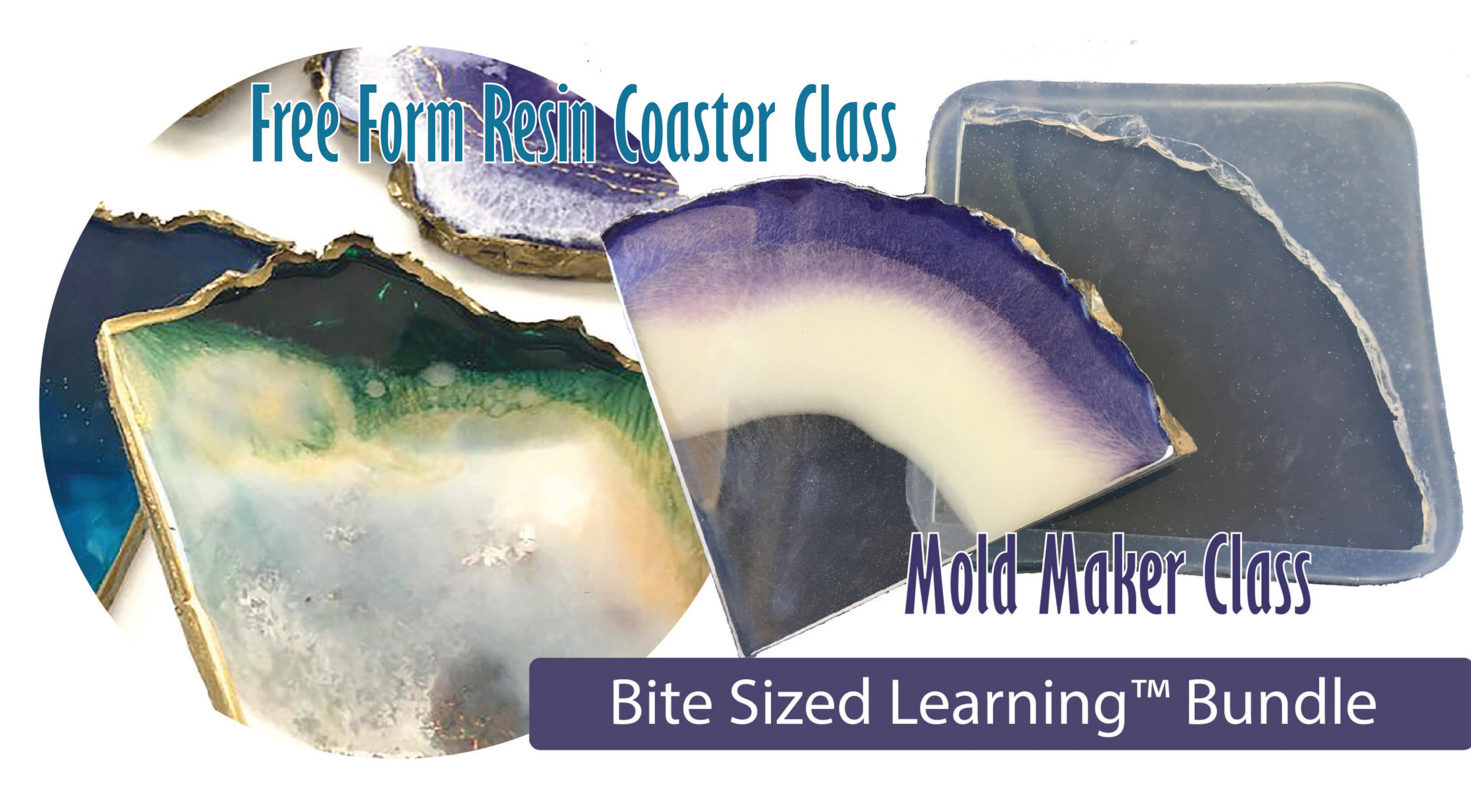Free Form Coaster & Mold Maker Class Pack