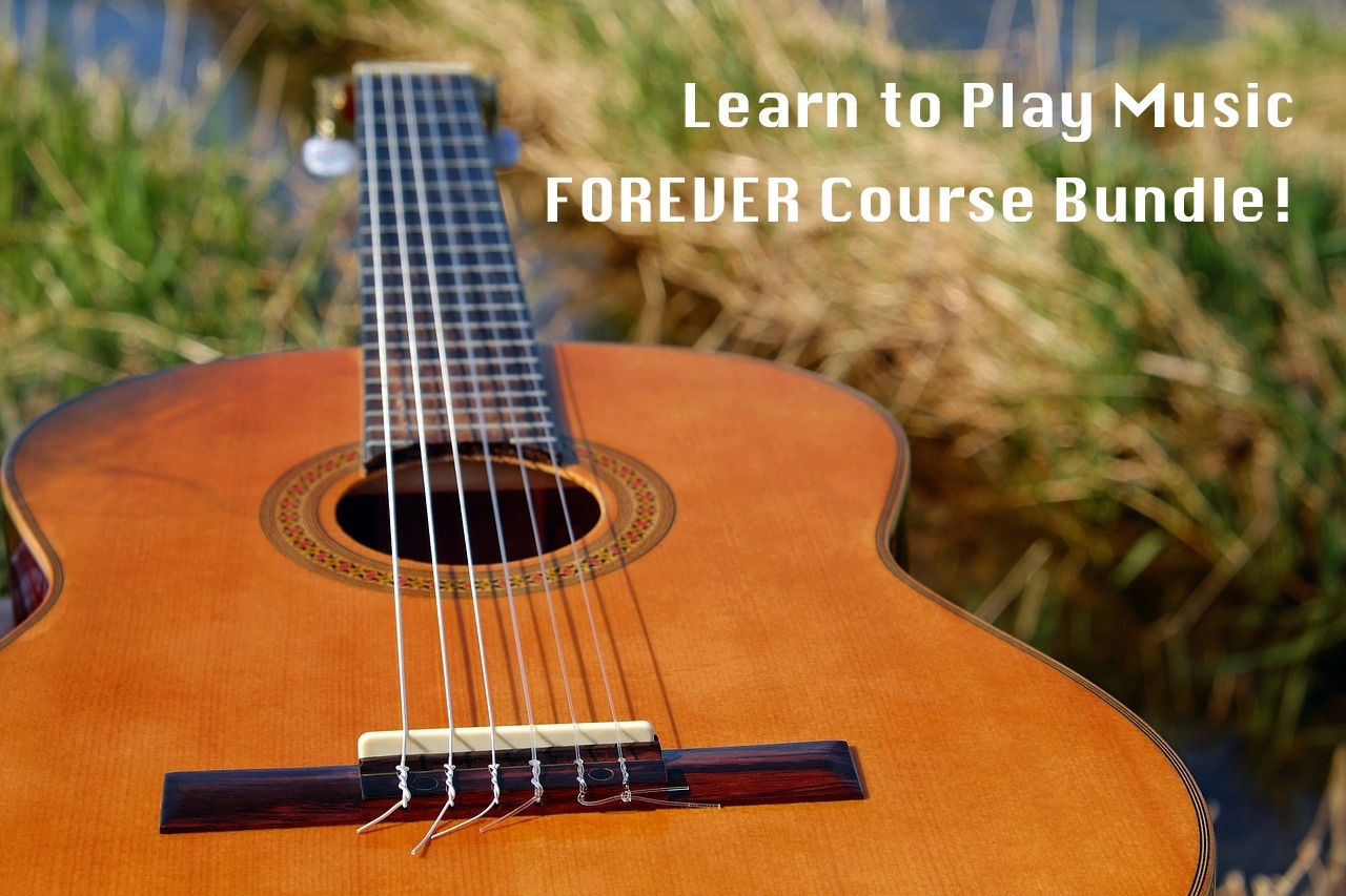 Learn to Play Music FOREVER Course Bundle!