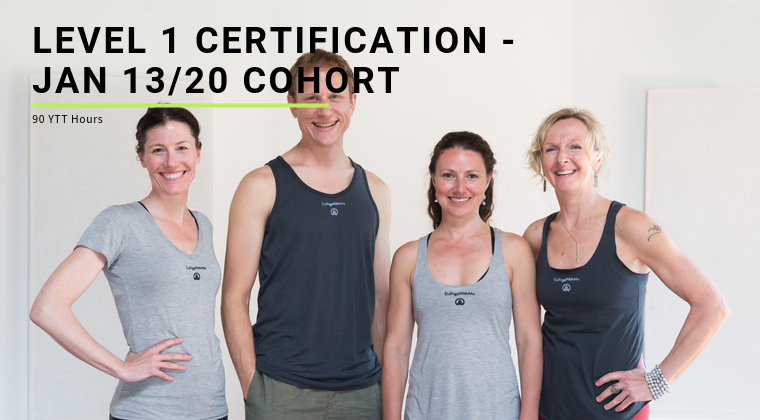 Level 1 Certification - Jan 13/20 Cohort