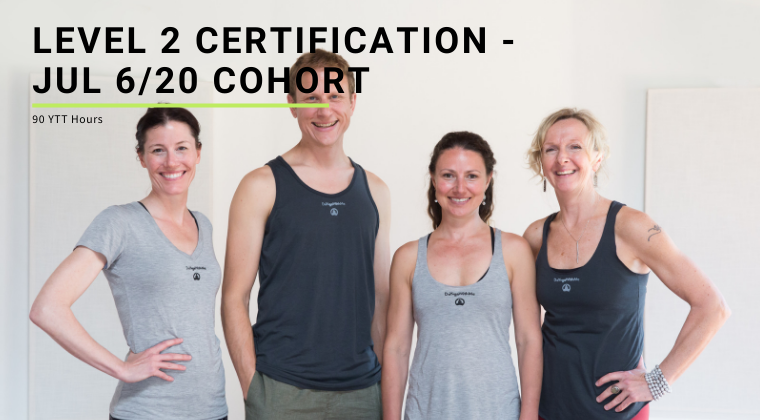 Level 2 Certification - Jul 6/20 Cohort