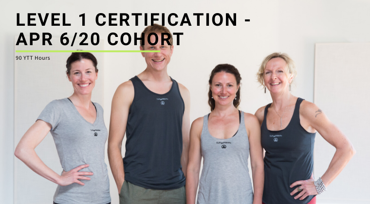 Level 1 Certification - Apr 6/20 Cohort