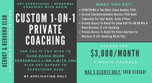 Custom 1-on-1 Private Coaching