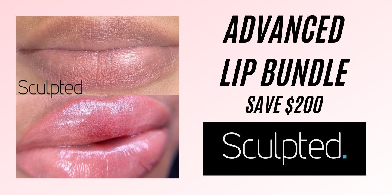 Advanced Lip PMU Bundle, Dark Lips and Color Theory
