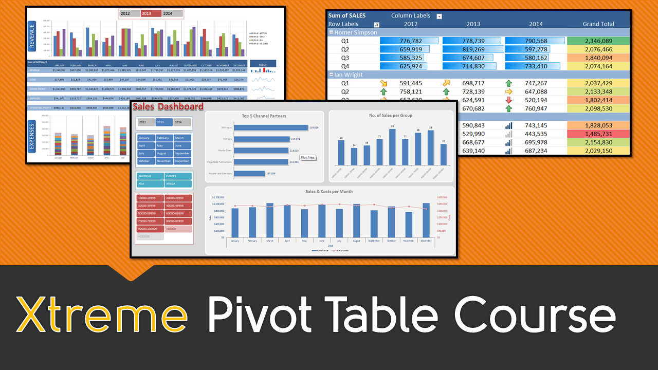 Consolidate multiple worksheets into one pivot table report excel 2007