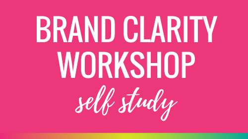 Brand Clarity Workshop