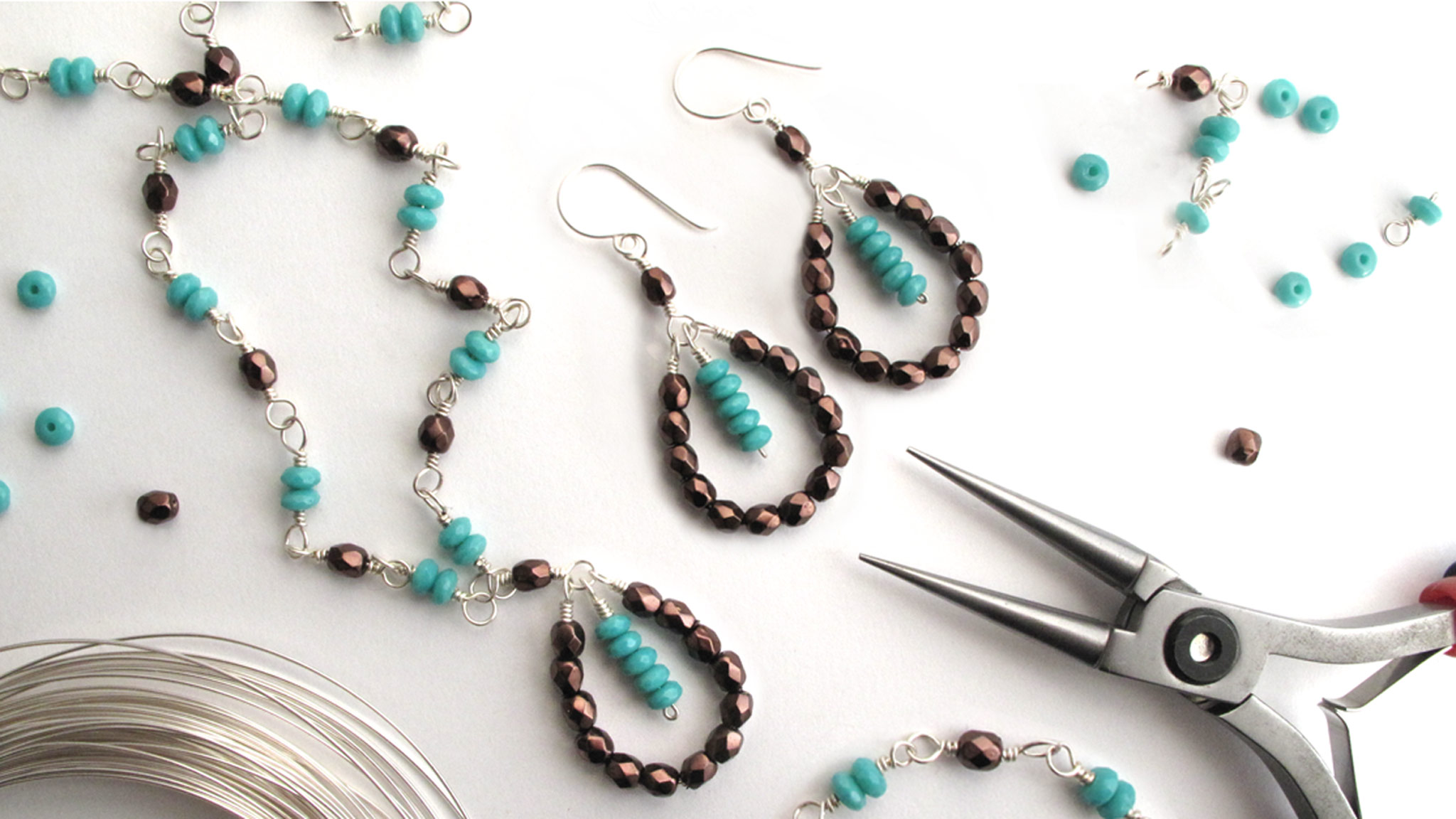 Wire Wrapping for Beginners Online Jewelry Workshop