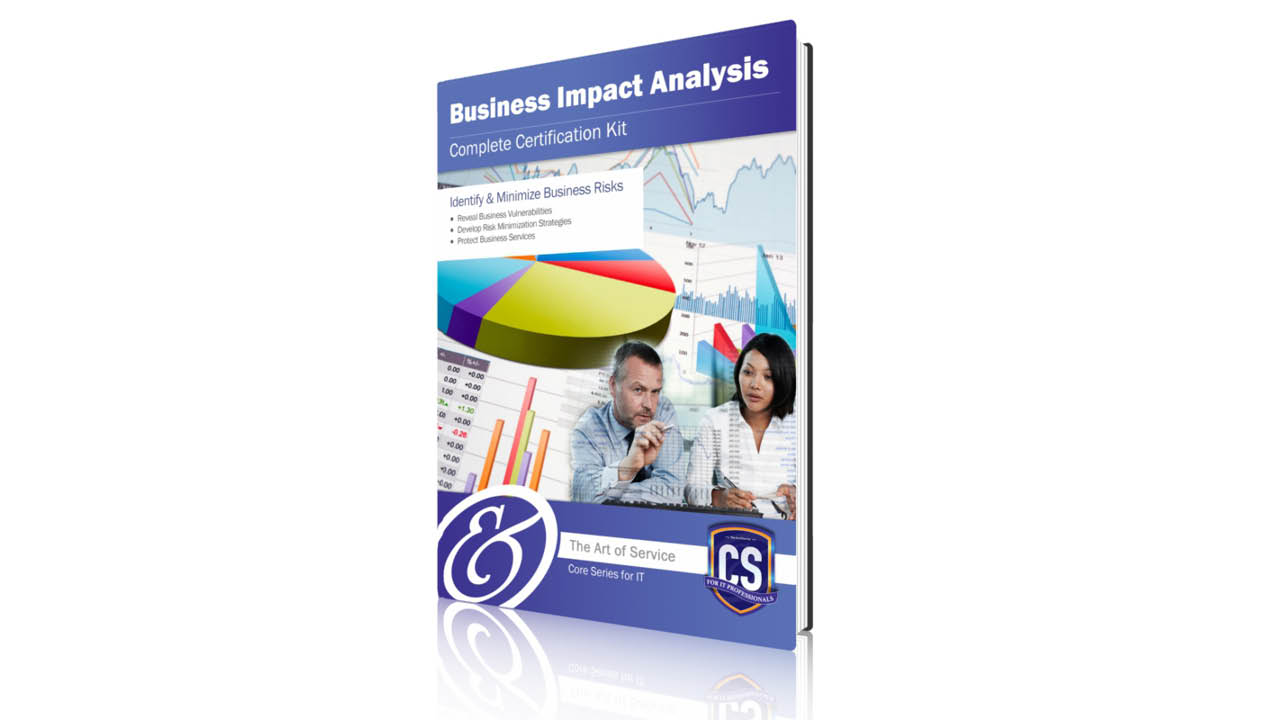 Business Impact Analysis Complete Certification Course