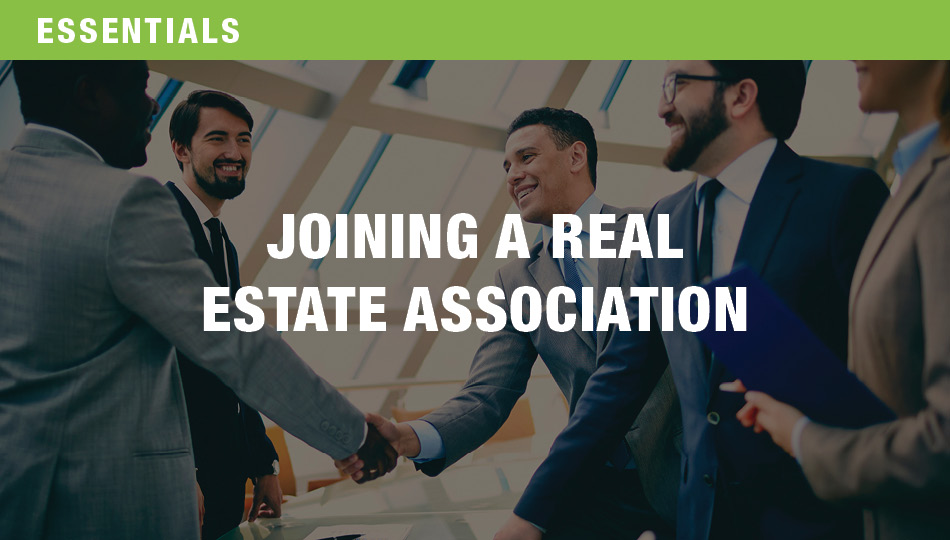 Joining a Real Estate Association