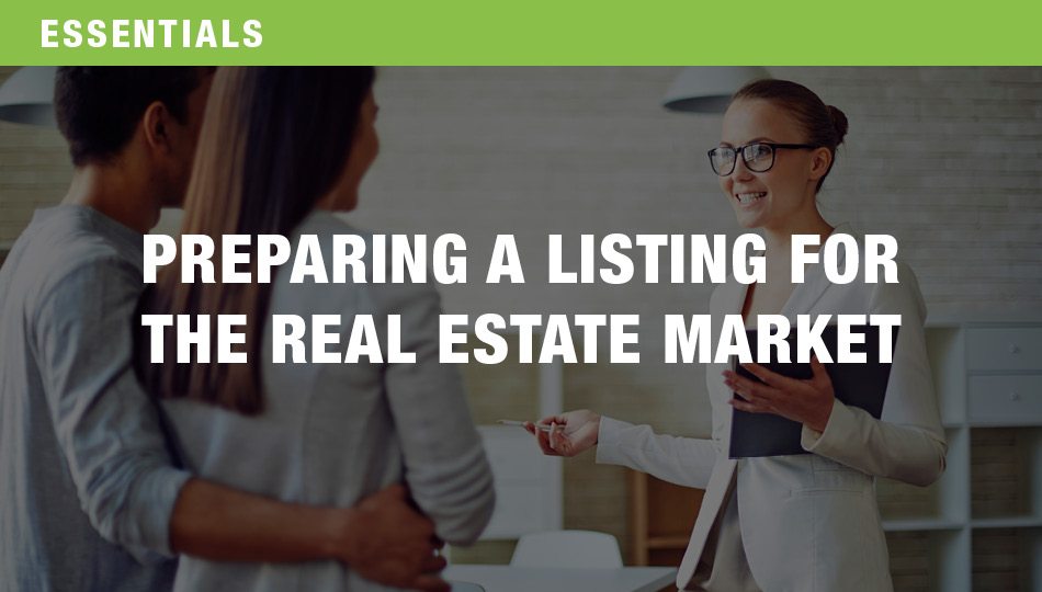 Preparing a Listing for the Real Estate Market, Parts 1 and 2