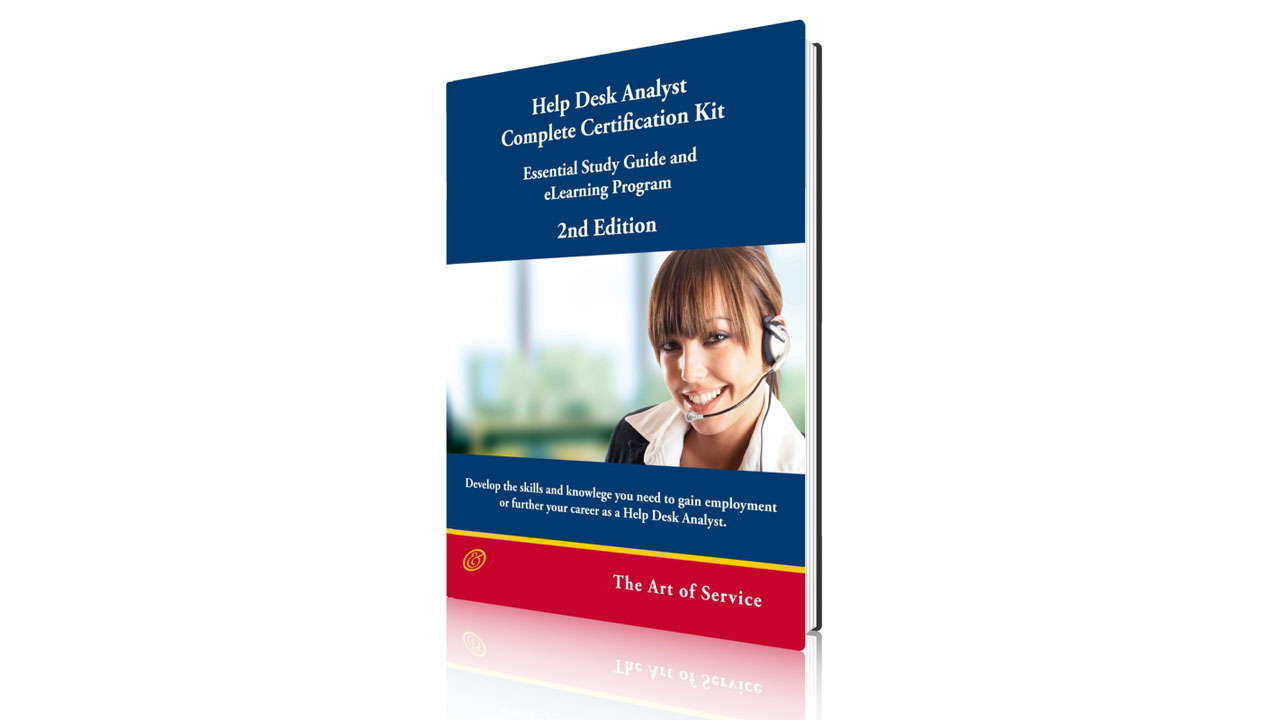 Help Desk Analyst Complete Certification Course Fifalde Consulting