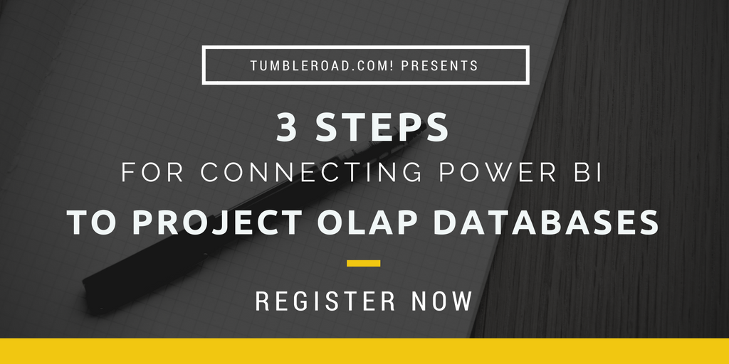 3 Steps for Connecting Power BI to Project Server OLAP Databases