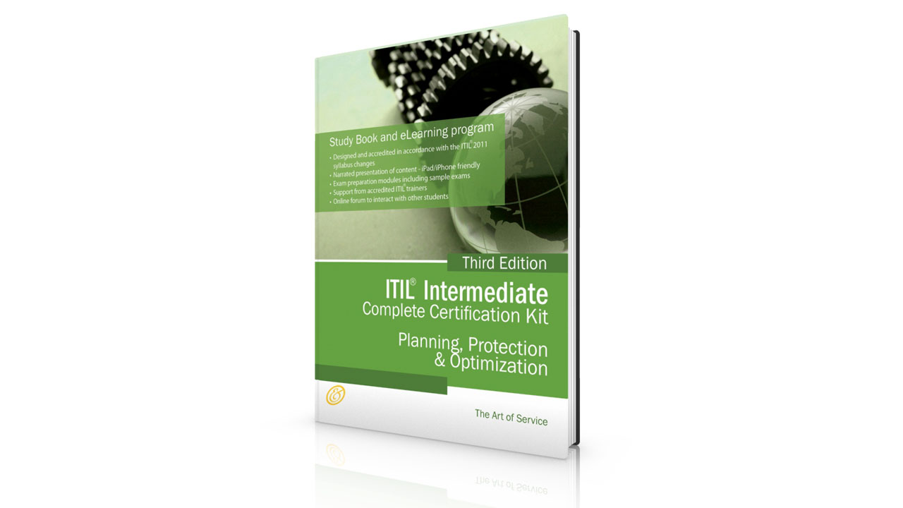 Itil Planning Protection And Optimization Ppo Certification