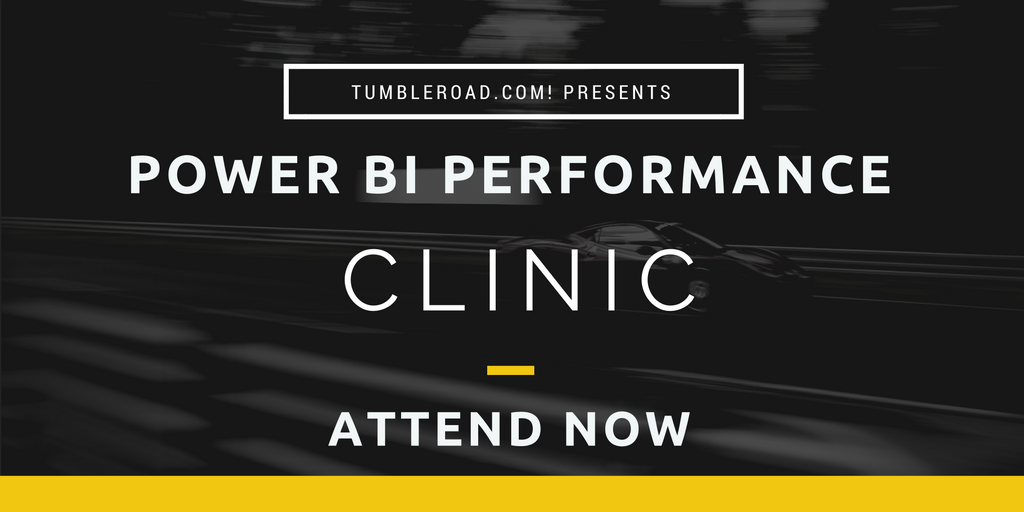Power BI Performance Clinic