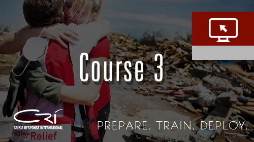 Course 3 - Advanced Crisis Response Training-NO NEW ENROLLMENTS