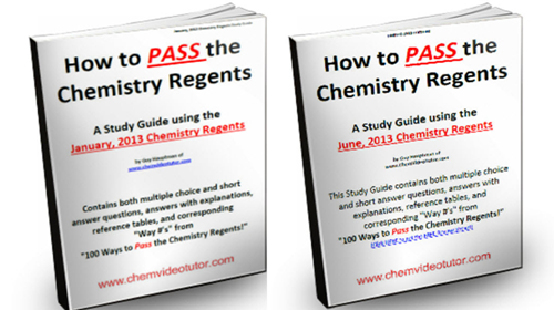 100 Ways to Pass the Chemistry Regents, Regents Chemistry, Combo