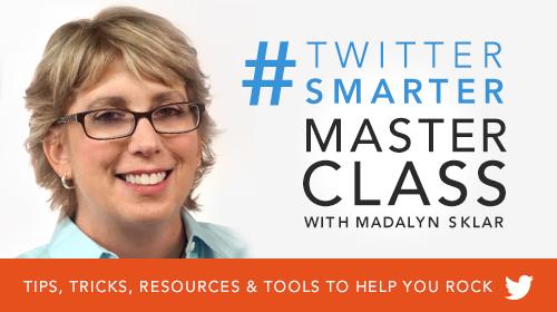 #TwitterSmarter Masterclass