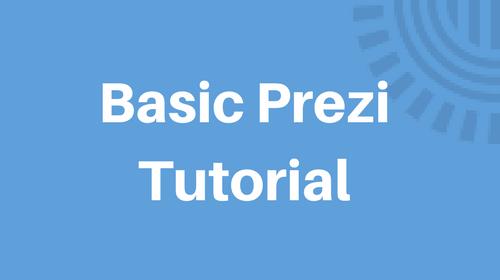 Basic Prezi Tutorial - Prezi Classic