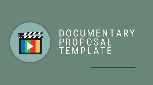 Documentary Proposal Template Pack