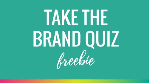 The Brand Quiz