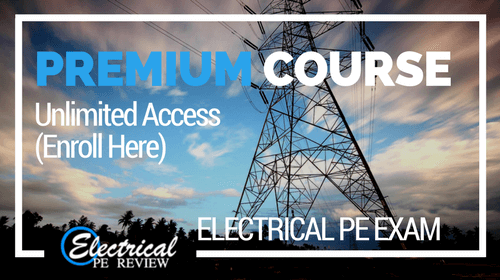 Premium Online Review Course (Electrical PE exam)