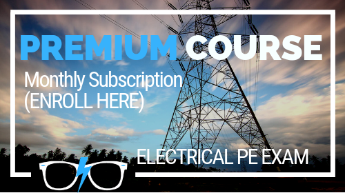 Premium Online Review Course (Electrical PE exam)