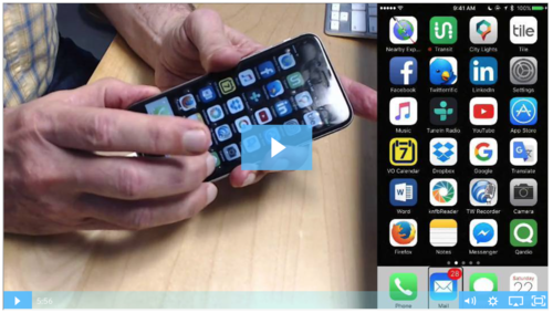 Mind's-Eye Navigation On The iPhone Touch-Screen