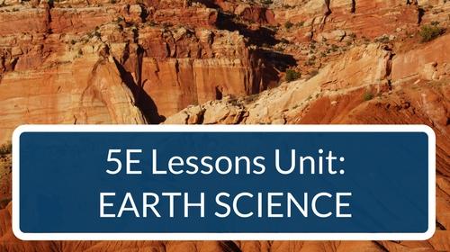 Earth Science 5E Lessons Bundle