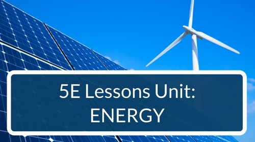 Energy 5E Lessons Bundle