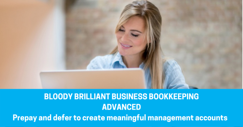 BBB Advanced ::  Accrue, Prepay and Defer  to create Meaningful Management Accounts